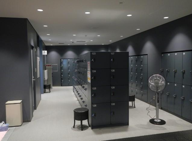 ロッカー室も清潔で使いやすいです