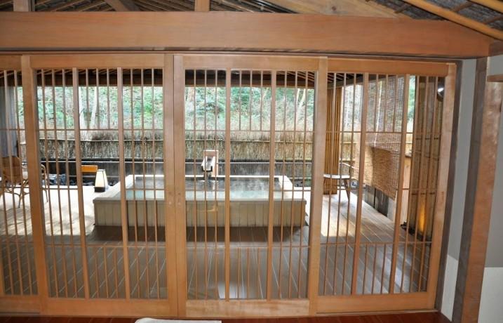 西村屋ホテル招月庭の貸し切り湯2