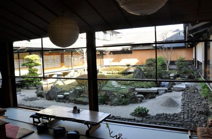 大西屋水翔苑の庭