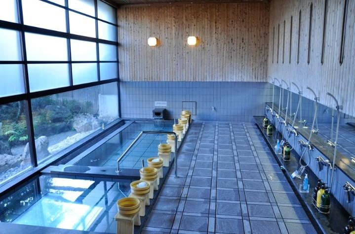 大西屋水翔苑の大浴場
