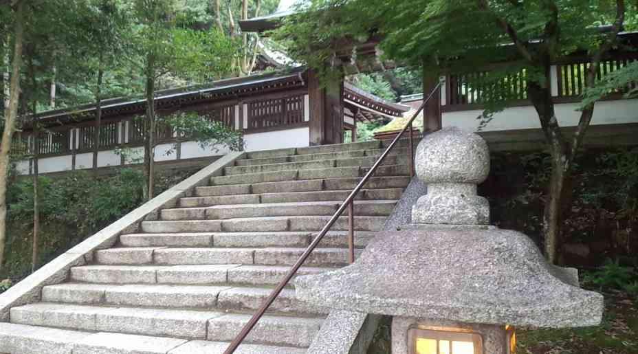 月読神社は大きい神社ではありません