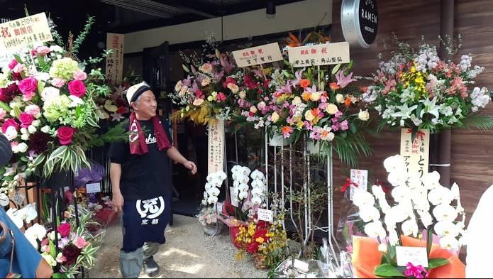 らぁ麺とうひちオープンの様子(2015年3月20日撮影)