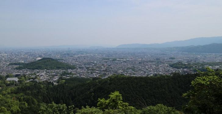 京都市内を一望できる数少ないスポット