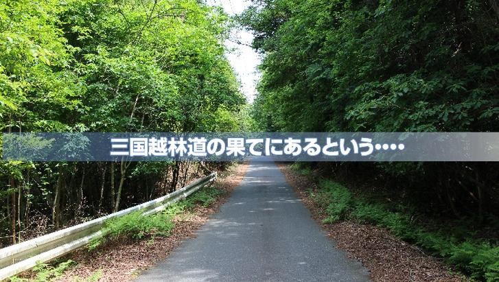 三国越林道