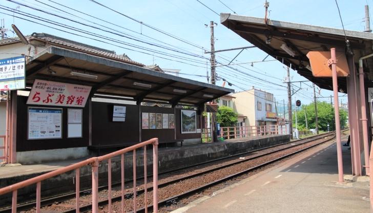 京福電気鉄道北野線「等持院駅」