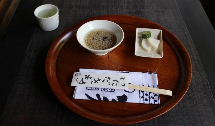 花竹庵 蕎麦の実1