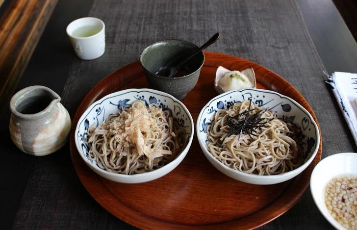 花竹庵 山椒おろし蕎麦1