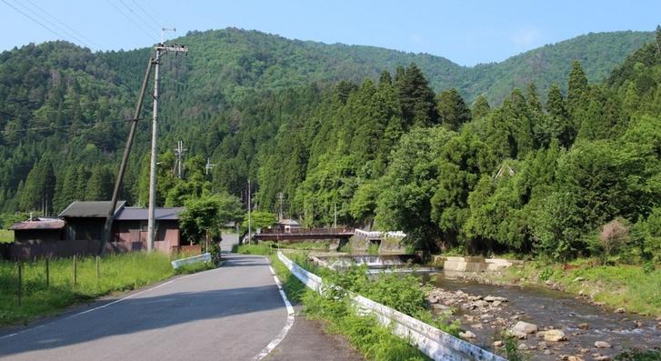 京都市最北の秘境「久多」のはずれ