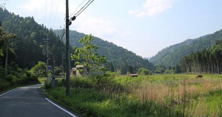 京都の秘境「久多」のさらに奥へ