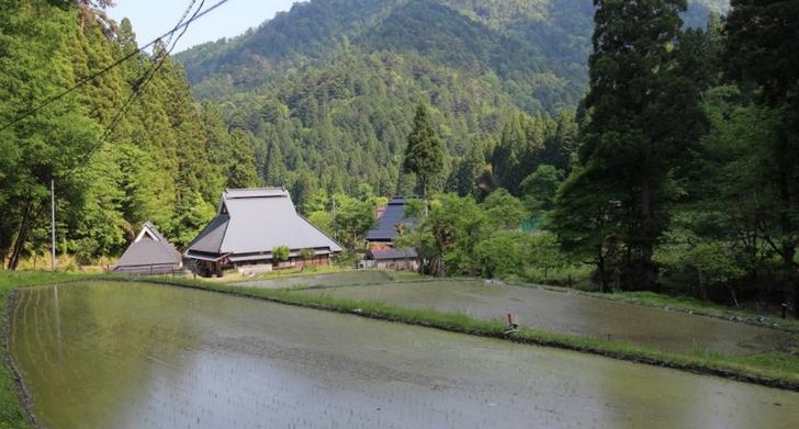 京都府京都市左京区久多宮の町の絶景