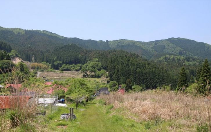 京都市左京区花脊別所町にある景観