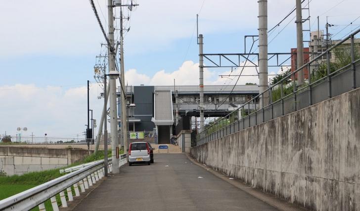 猪ラーメンはJR奈良線「山城多賀駅」近くにあるらしい