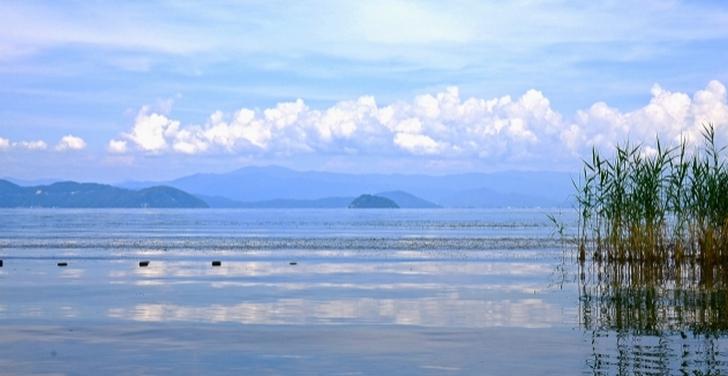 奥琵琶湖 竹生島