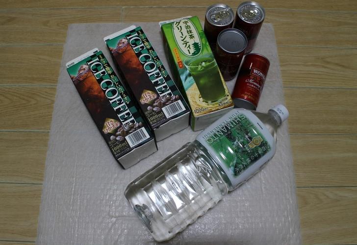 これだけ買っても500円の飲料用品