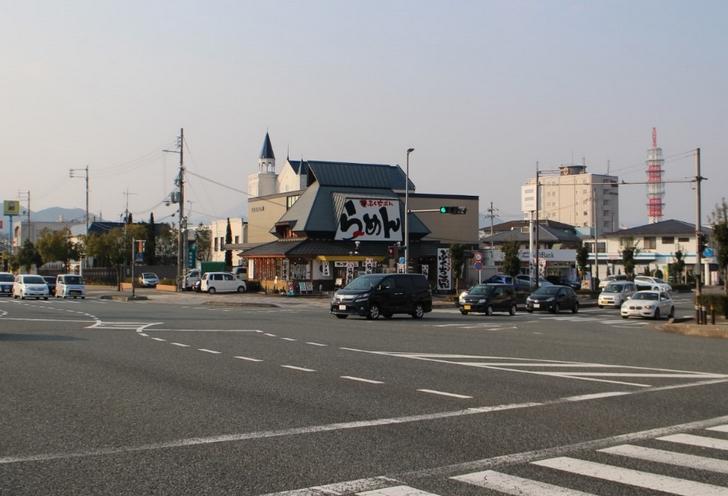 場所は福知山駅前(国道9号線)と推測されます
