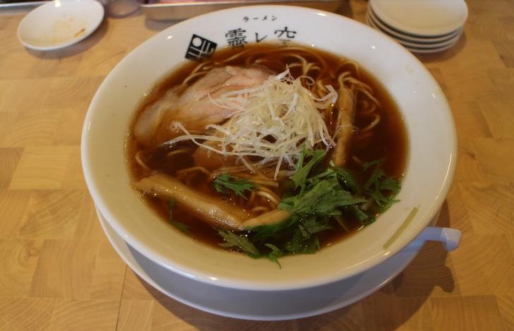 牡蠣煮干し麺 780円