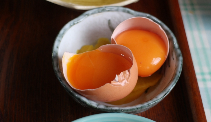 朝採れ卵(京都府亀岡市)