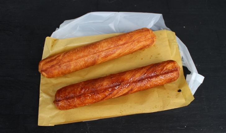 プレーン(上)とシュガー味(下)