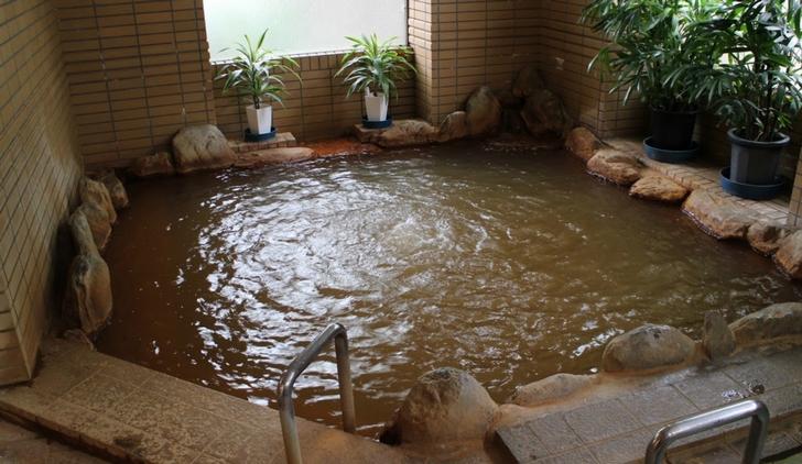 汐の湯温泉(重曹泉)