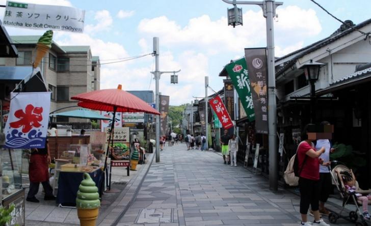 抹茶が氾濫する町「京都・宇治」