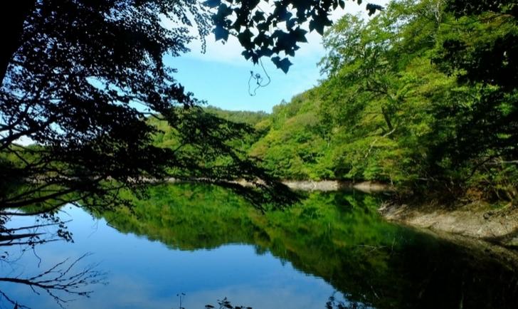 秋田県能代市二ツ井町は世界遺産「白神山地」の南側