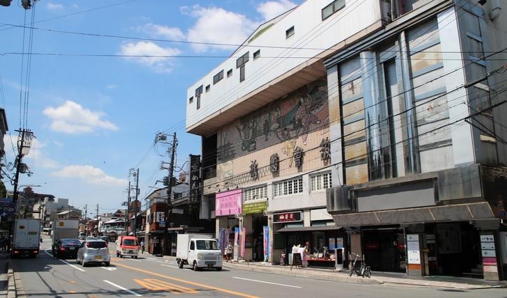 祇園四条は京都最大の繁華街