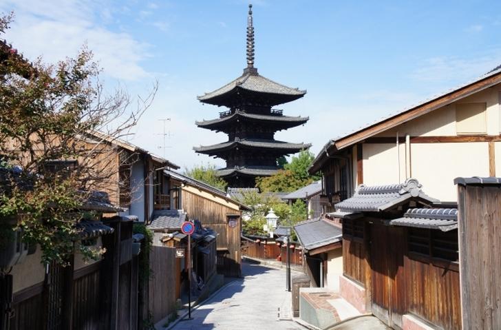 清水寺から歩いていくのが楽しい