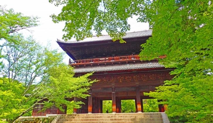 石川五右衛門「絶景かな」の舞台、南禅寺の山門