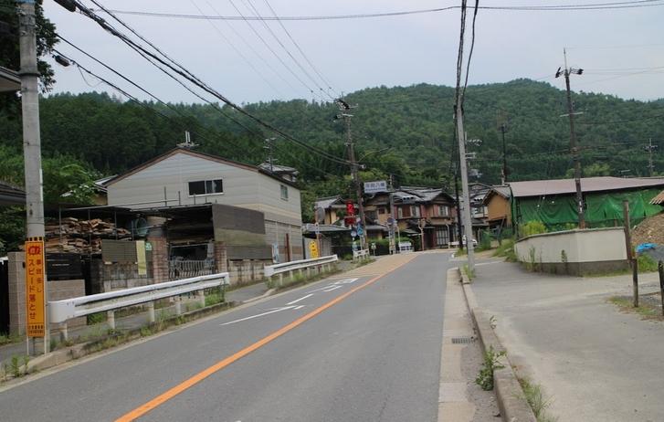 京都市北区の「鳴滝」とか「梅ヶ畑」