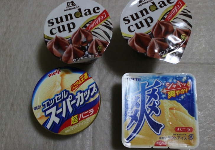 アイスクリーム各種 78円