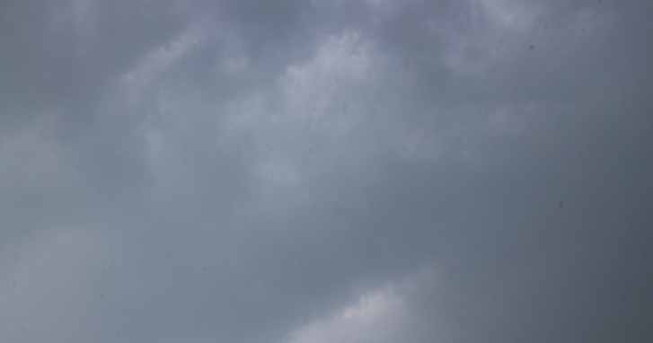 8/15 13:15頃から京都市内で激しい豪雨