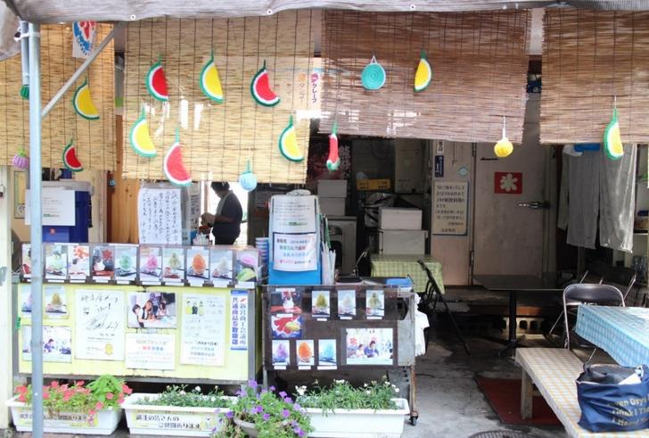 和歌山県新宮市「仲氷店」は昔ながらのかき氷屋さんです