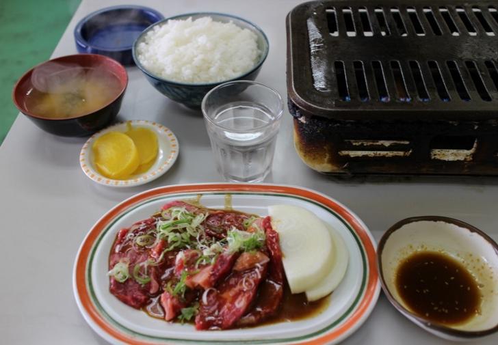 ロース定食 1600円