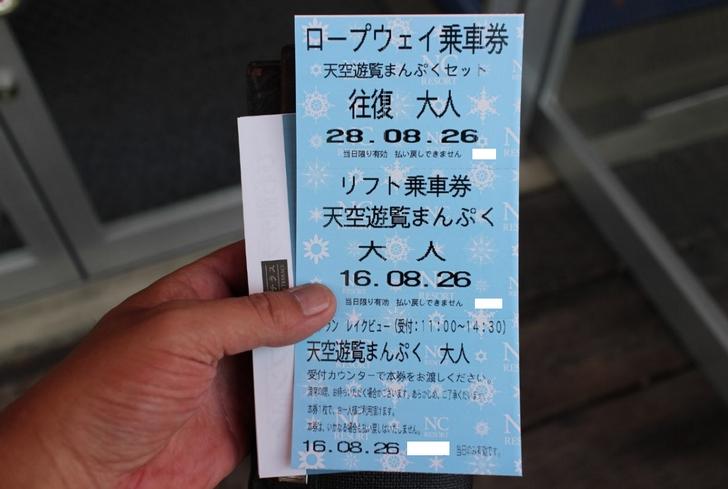 ということで全部入りチケット(4000円)を購入