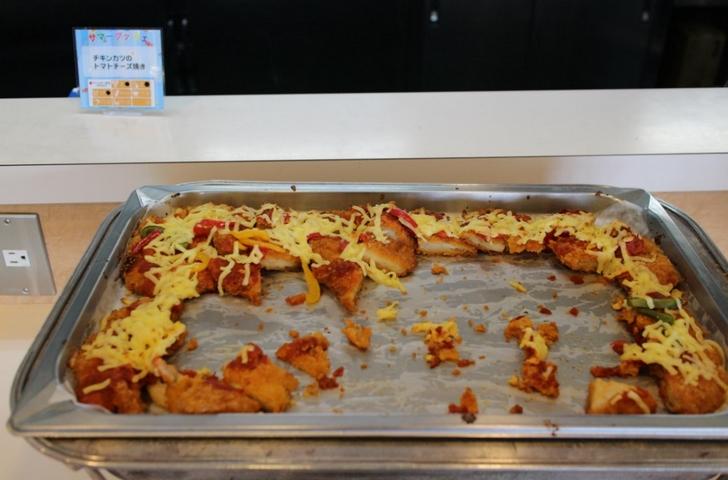 チキンカツのトマトチーズ焼き
