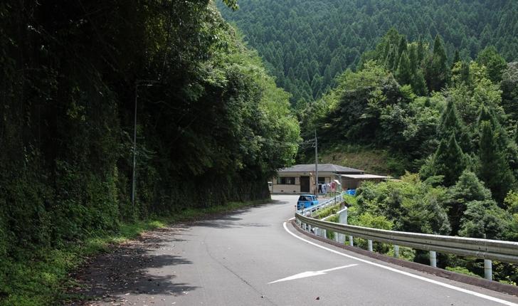小坪瀬(こつぼせ)の集落