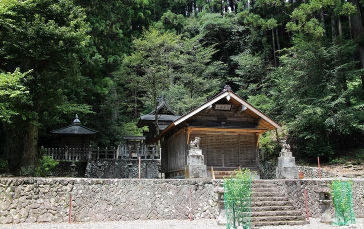 川合神社が見えたらもう賑やかになってきます!