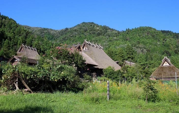 かやぶきの里(美山)の古民家