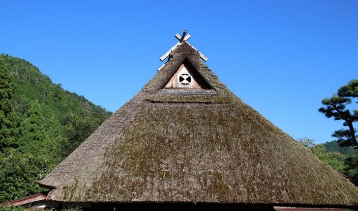 かやぶきの屋根