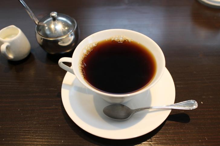 コーヒーが食後にでてきます
