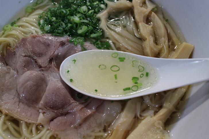 清湯(チンタン)のスープです