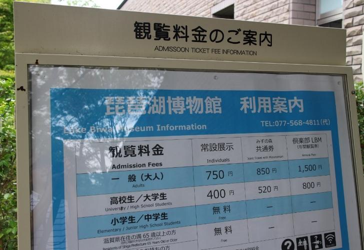入館料は750円