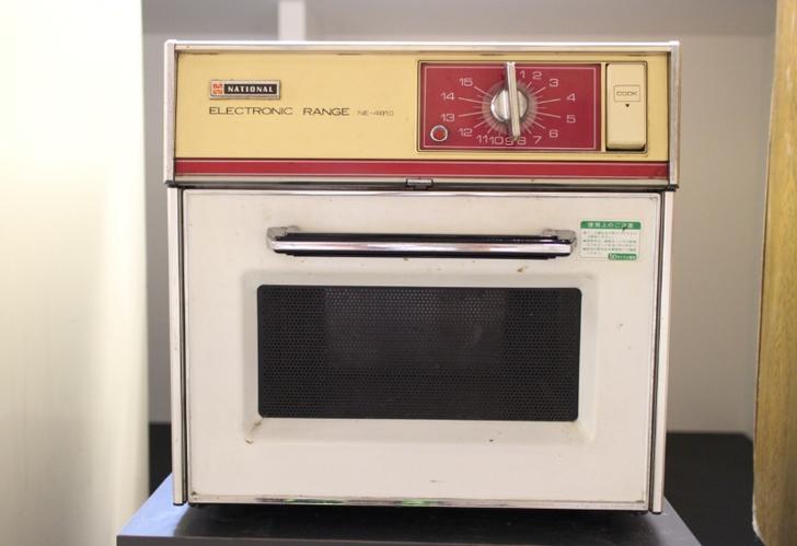 1970年代の電子レンジ