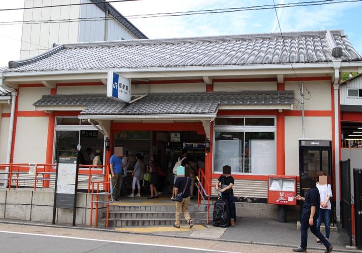 JR奈良線 「稲荷駅」