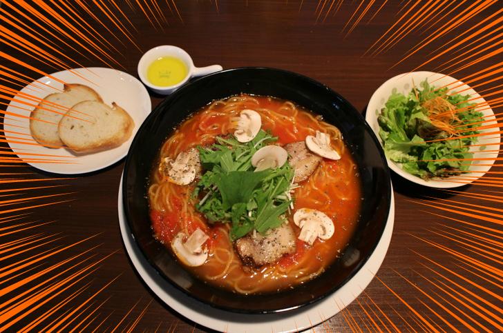 これが「イタ麺」(イタラーメン)です!