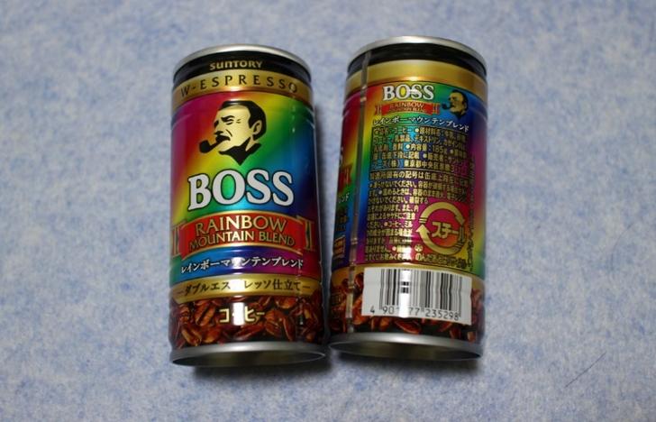 缶コーヒー「ボス」は1本55円です!
