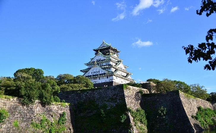 10/7も9時頃から引き続き大阪城でタモリさんが目撃される