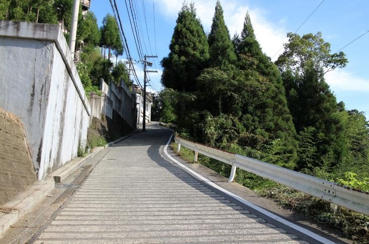 実は京都にあった超激坂「千束坂」