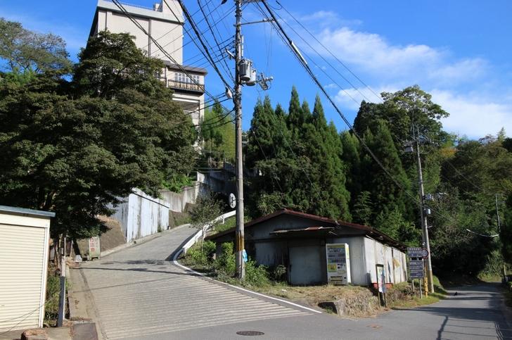 日本最大傾斜に迫る21%の激坂が京都にもあります
