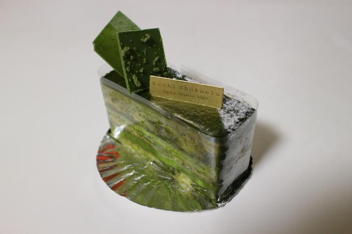 菓子職人 @京都・西院 抹茶のショコラケーキ